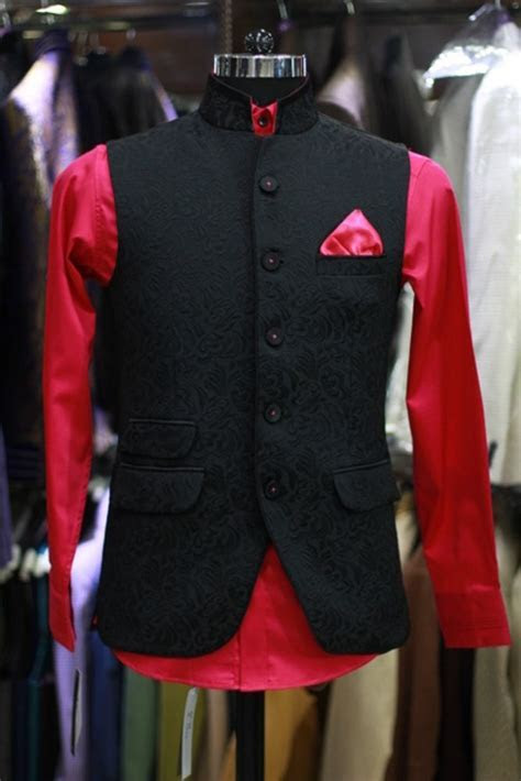 Black Nehru Jacket   Bandhgala & Nehru Jackets   Wedding