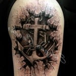 Cross Tattoos With Crown Of Thorns Cool Tattoos Bonbaden