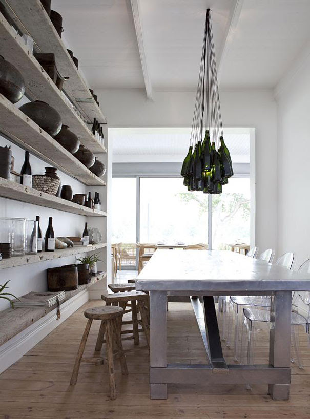 http://www.remodelista.com/posts/wine-bottle-chandelier-by-chris-weylandt