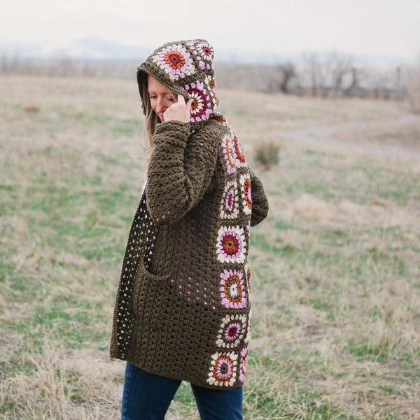 Crochet Kit - Revival Granny Square Cardigan