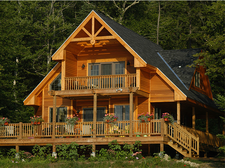 The House Plan Shop Blog » Waterfront House Plans