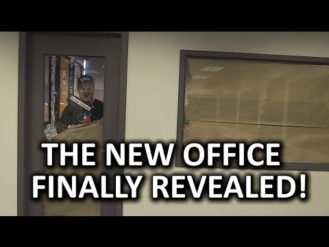 THE BIG REVEAL - Extreme Tech Office Makeover Pt. 2 - YouTube