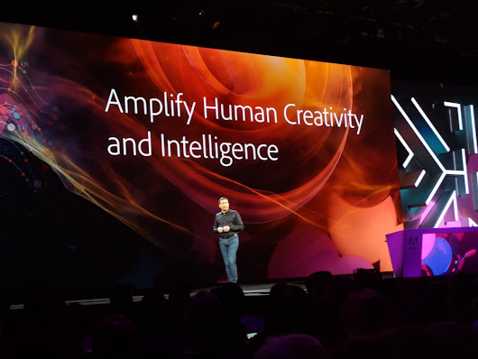 Adobe says it wants AI to amplify human creativity and intelligence