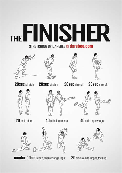The Finisher Workout | Post workout stretches, After