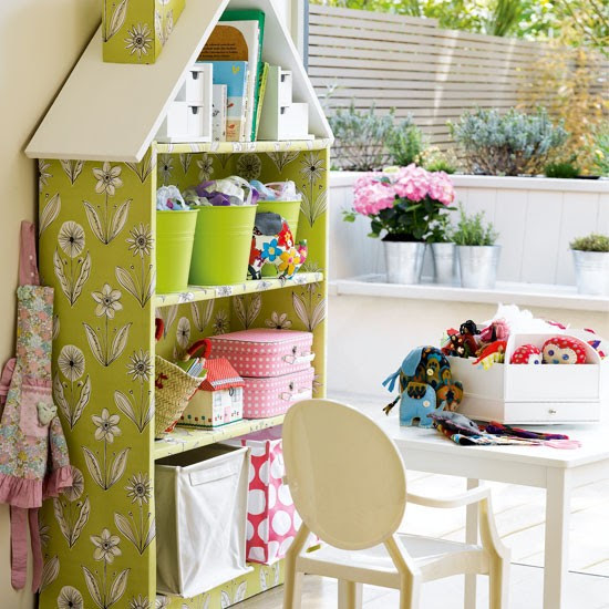 Girl's doll house-inspired storage | Girl's bedroom ideas | Children's bedroom | Image | Housetohome