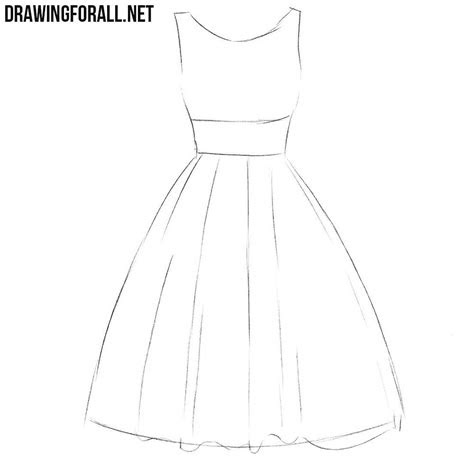 draw  dress step  step  beginners art