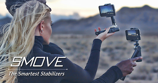 SMOVE: Smartphone Stabilizers & PowerBank in One