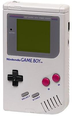Primeira versão do Game Boy