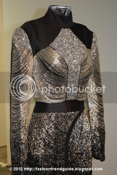 beaded Devon gown