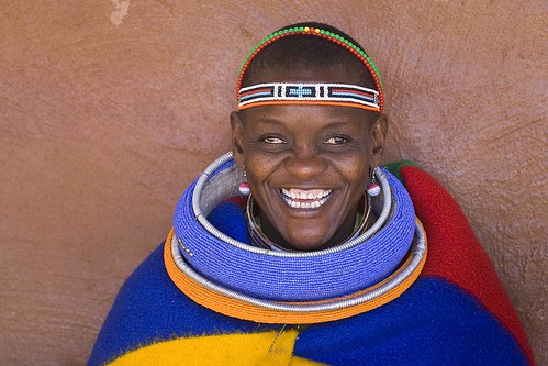 South Africa: Ndebele Woman