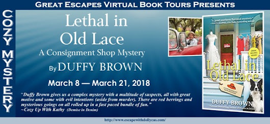 LETHAL IN OLD LACE BOOK TOUR