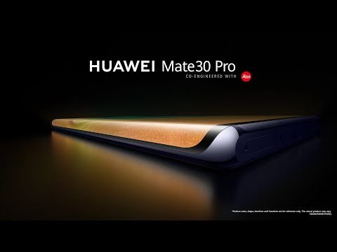 Introducing the New Huawei Mate 30 and Huawei Mate 30 Pro