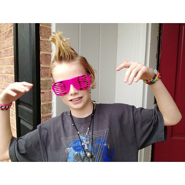 The rockstar! #kidshalloween