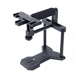 Movo VH500 Video Stabilizer Cage with Top Handle, 3 Accessory Shoes and Camera