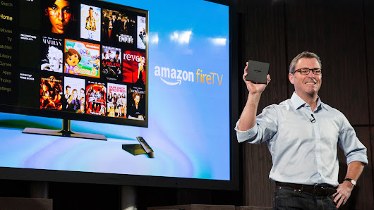 With Fire TV, Amazon Seeks a Beachhead in the Living Room