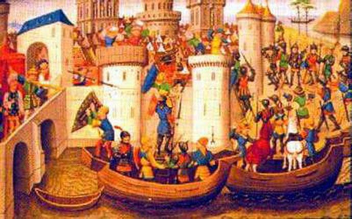 12 Ἀπριλίου 1204. Ἡ τετάρτη Σταυροφορία