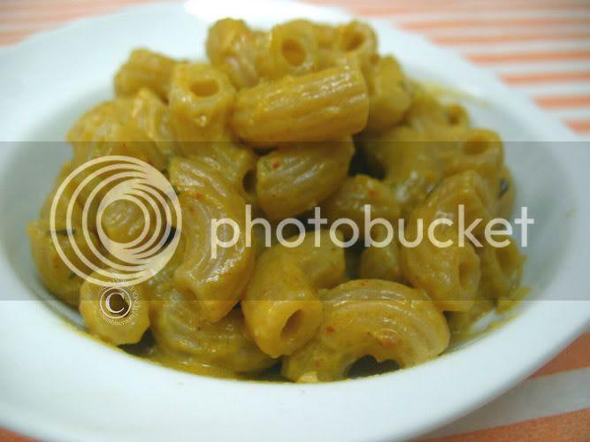 Vegan pasta with tomato basil almond pesto