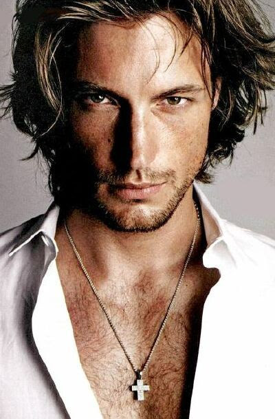 Gabriel Aubry (born August 30, 1976) is a Canadian male model. He has modeled for Tommy Hilfiger, Gianni Versace, Calvin Klein, DKNY, Valentino, Trussardi, Nautica, Exte, Joop, Massimo Dutti and Next. He is signed to Wilhelmina Models in New York City and Beatrice Model agency in Milan, Italy.
