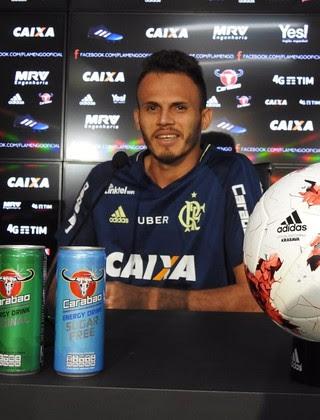 Renê Coletiva Flamengo (Foto: Fred Gomes/GloboEsporte.com)