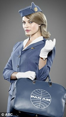 The stars of Pan Am: Christina Ricci and Margot Robbie are two of the show's stars