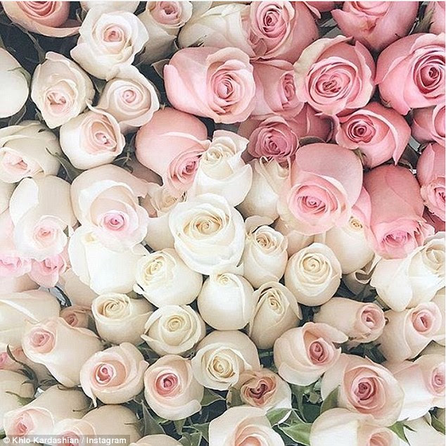 Is their love blossoming?It looks like the Strong Looks Better Naked author just had a visit from the athlete because in the early morning hours the beauty shared a photo of two dozen pink roses with the caption: Sunday type of LOVE'