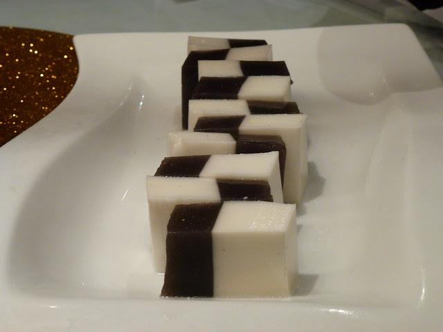 Coconut & Sesame Dessert