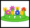 Flower Crown Arts & Crafts Easter Idea for Kids