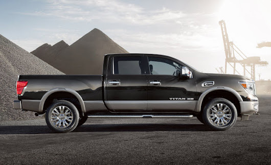 2017 Titan Models to Come with 'America's Best Truck Warranty'