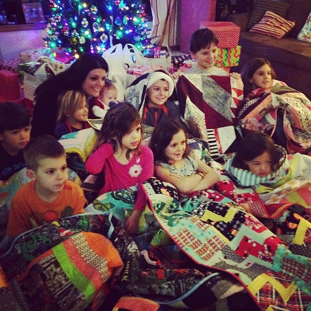 Me + kiddos + quilts!