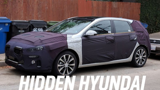 Is This The Next-Gen Hyundai Elantra GT?