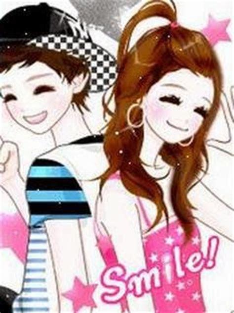 gambar gambar kartun korea romantis terbaru lengkap