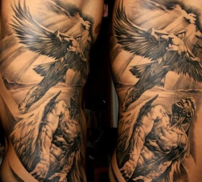 Tattoo engel teufel schulter ENGEL TATTOOS