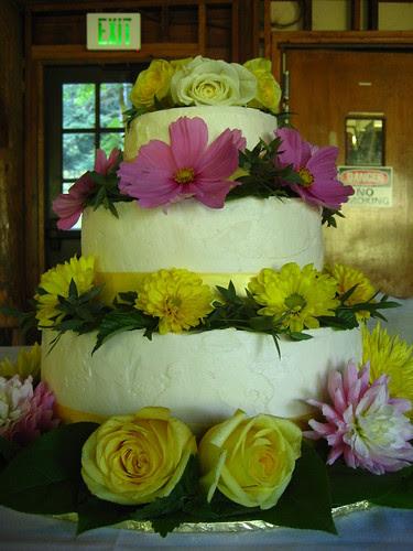 julie and noah's wedding cake!