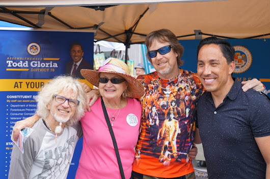 Jun 23 – OB Street Fair – The Start of the 2018 Elections