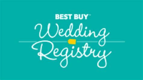 Beware the Best Buy Wedding Registry, Lest You Look Like