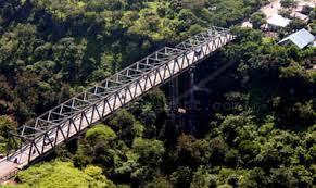 Ilustrasi. Jembatan Liliba dan nuansa di sekelilingnya
