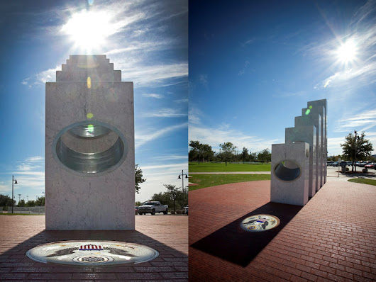 Once a Year at 11:11 am the Sun Shines Perfectly on this Memorial
