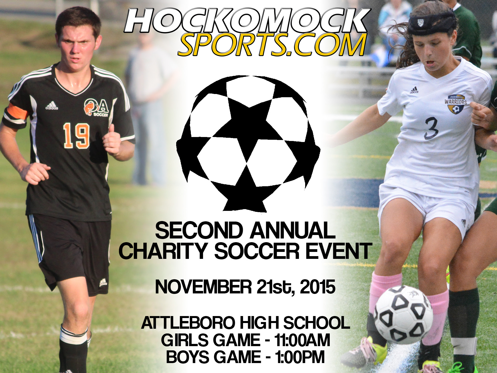 The 2nd Annual HockomockSports.com Charity Soccer All Star Event