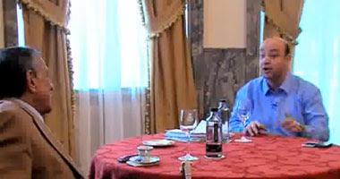 عمرو أديب ينفرد بإجراء أول لقاء تليفزيونى مع حسين سالم فى إسبانيا