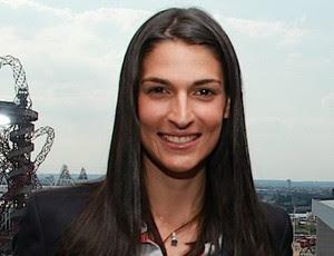 Mariana Brochado comentarista de natação SporTV (Foto: Thiago Lavinas / SporTV)