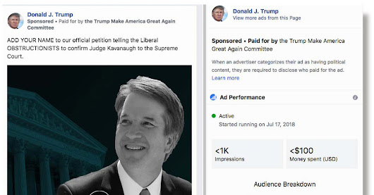 The Biggest Spender of Political Ads on Facebook? President Trump