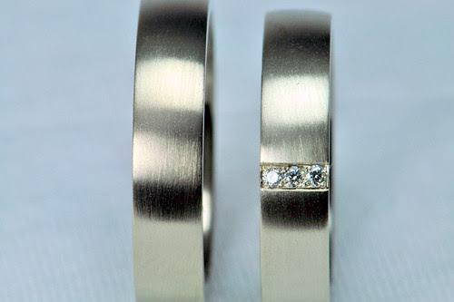 Pair of wedding ring