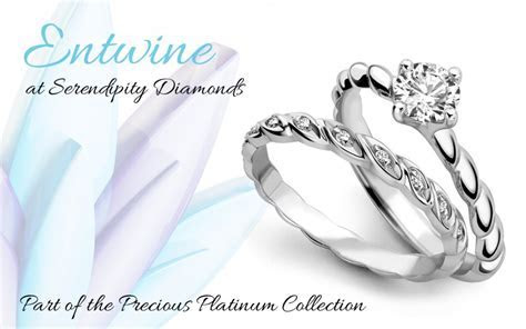 'Entwine' New Engagement Ring Designs   Platinum Collection