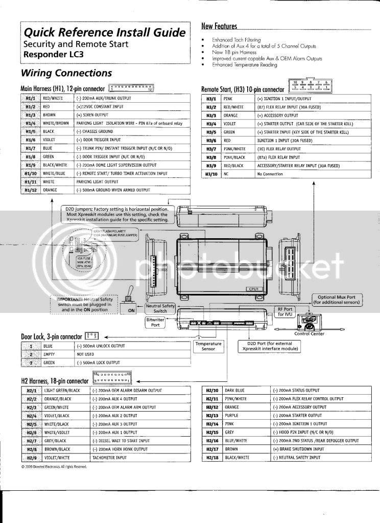 32 Remote Start Wiring Diagram
