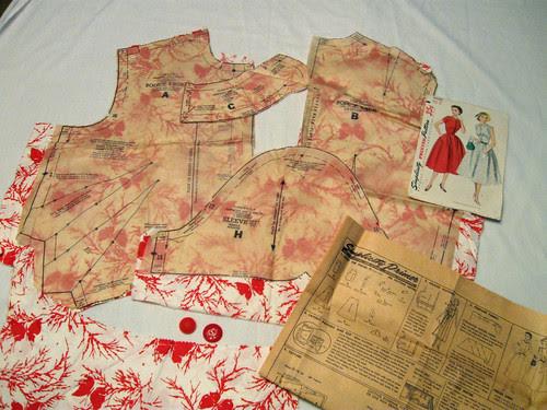 Vintage find dress pieces