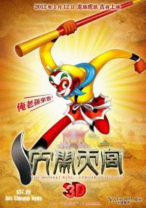 Download The Monkey King (2012) BluRay 720p 600MB Ganool