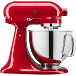 KitchenAid 100 Year Limited Edition Queen of Hearts KSM180QHSD 5-Quart Mixer - Passion Red - 325W
