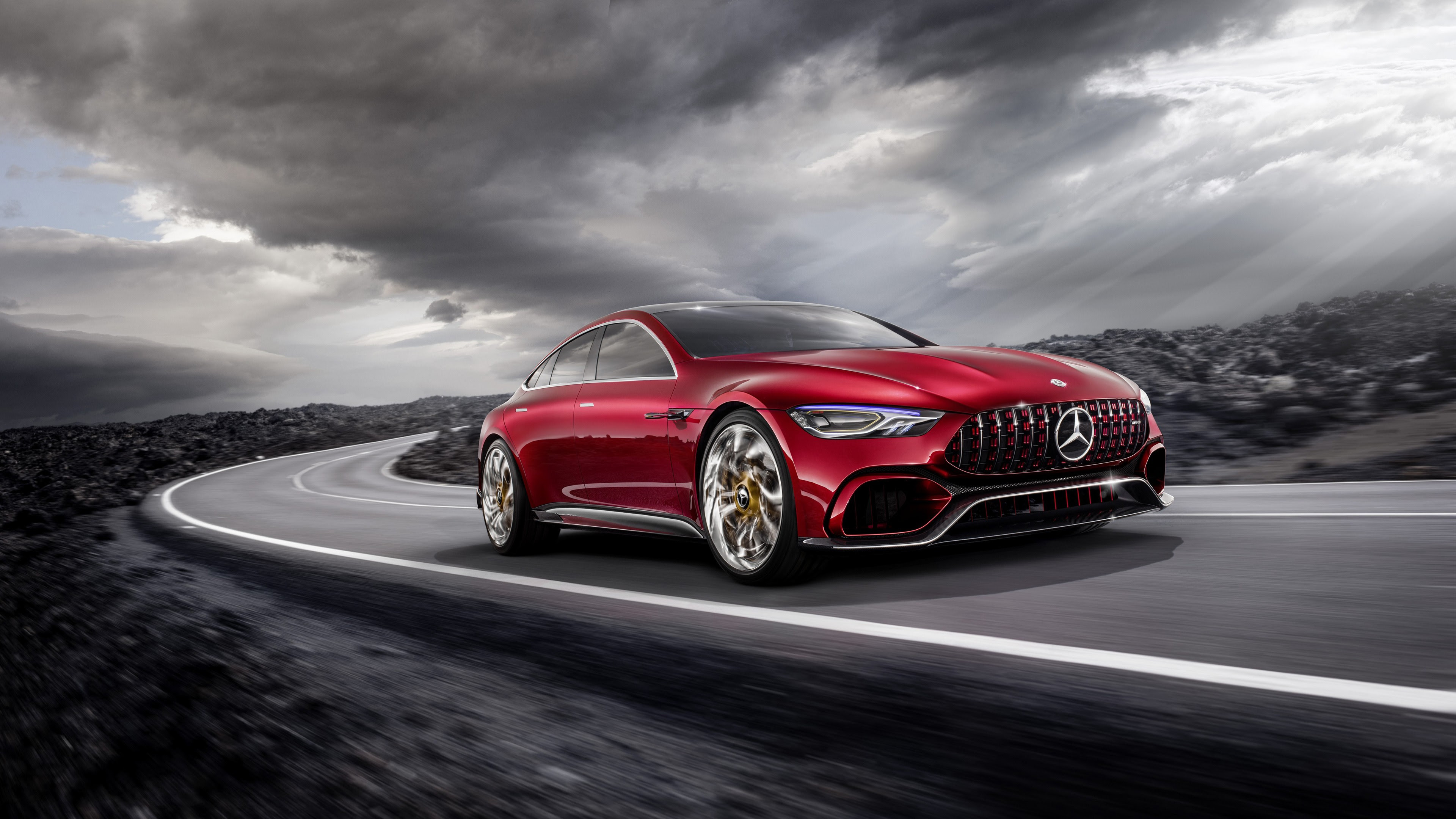 Mercedes AMG GT 4K 2017 Wallpapers | HD Wallpapers | ID #19914