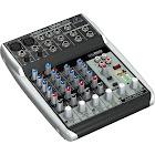 Behringer Xenyx Q802USB 8-Channel Analog Mixer - 48kHz - USB