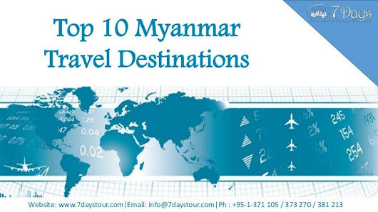 Top 10 myanmar travel destinations